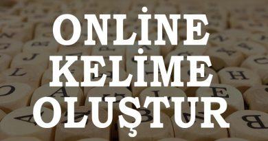 Online Kelime Üretici