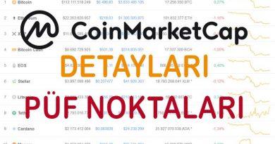 Coinmarketcap.com Web Sitesi Tanıtımı ve Püf Noktaları