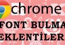 Yazı Fontu Bulmak için En İyi 5 Chrome Eklentisi