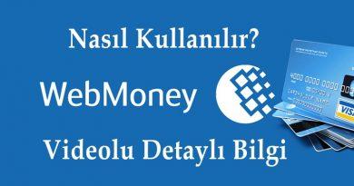 Webmoney Nedir? Nasıl Kullanılır?